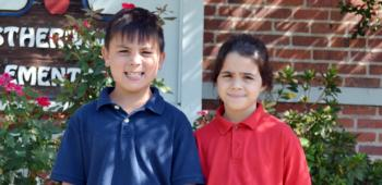 Estherwood Elementary has chosen second graders, from left, Tallon Gamez, prince, and Elizabeth Patti, princess, to represent the school in the International Rice Festival 2013 Junior King and Queen's Contest, set for Friday, Oct. 18. Tallon is the son of Nika and Anthony Gamez, and Elizabeth is the daughter of Amy and Christopher Patti.