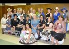 Mesdames d' Rayne, derived from the enjoyed Rayne Remembered site of Facebook, gathered for their inaugural meeting and day of fun on Saturday, Sept. 14, at the Union Hall in Rayne, complete in vintage attire.